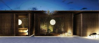 Q&A With Master Architect and Designer Piero Lissoni - Photo 6 of 6 - Cabana at night