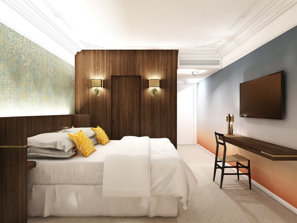 Photo 6 of 8 in A New Hotel in Paris That's Designed to Give Guests a Taste of Modern Parisian Living