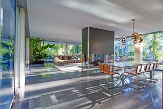 A Renovated, Midcentury Glass-and-Steel House in New York Asks $2M - Photo 3 of 9 -
