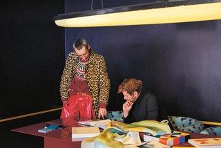 Dimore Studio design team, Britt Moran and Emiliano Salci.