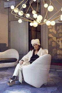 Milan-based Gallerist, Nina Yashar.