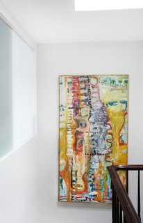 A Design Duo's 19th-Century Brooklyn Townhouse Is Filled With Art They Love - Photo 7 of 15 -