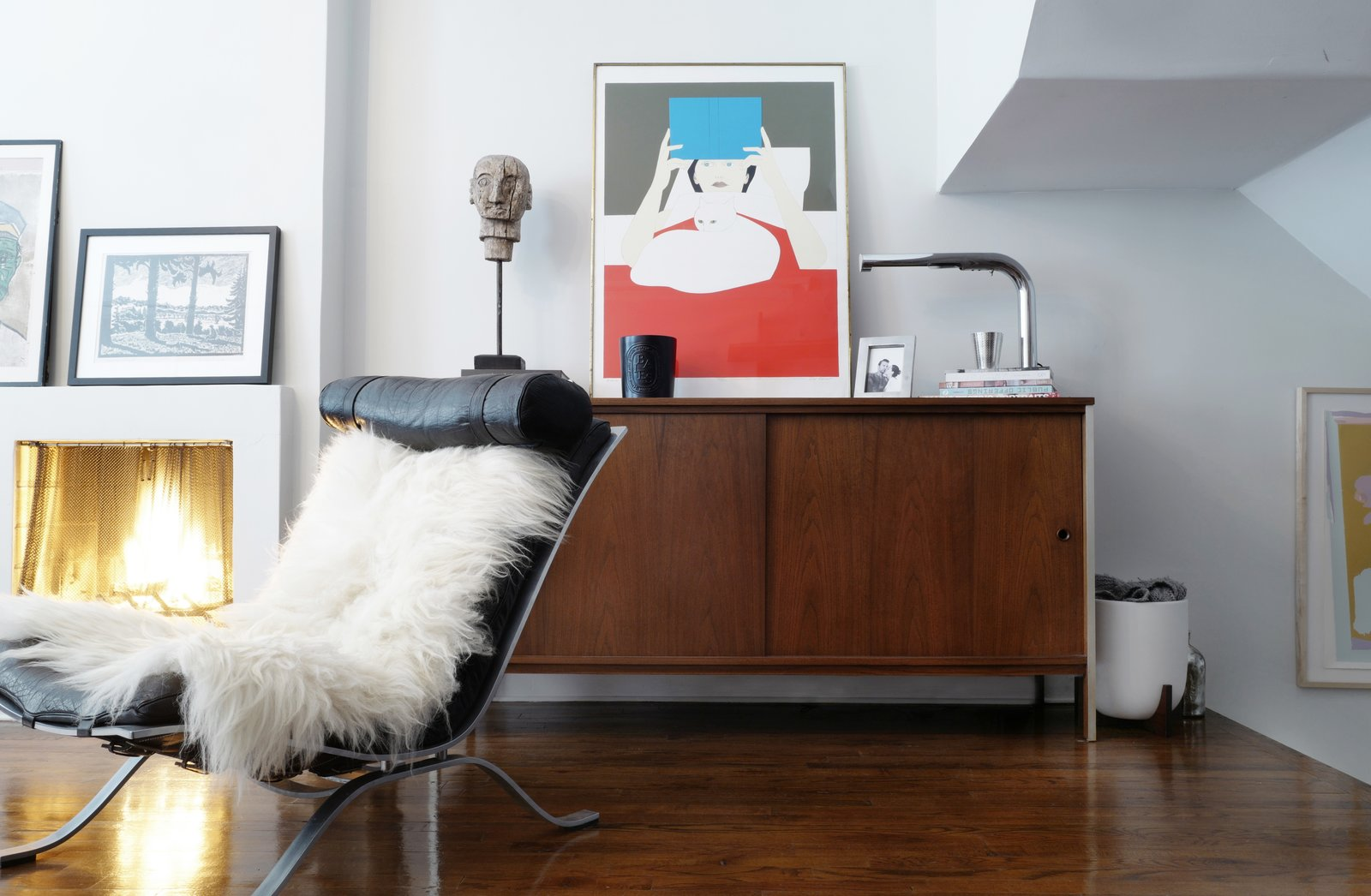 Photo 7 of 16 in A Design Duo's 19th-Century Brooklyn Townhouse Is Filled With Art They Love