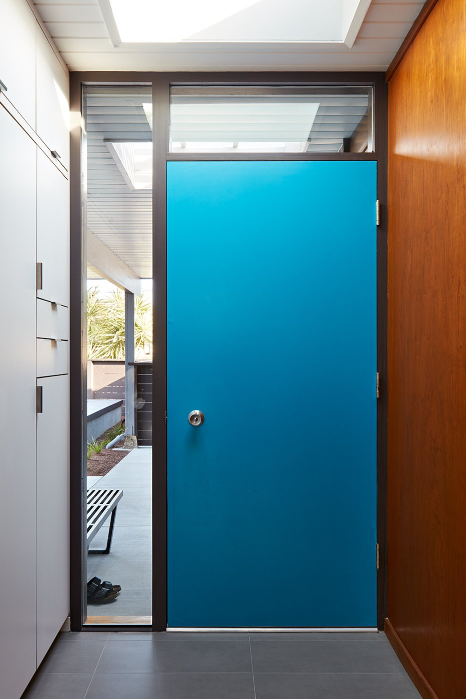 Doors and Wood  Photo 6 of 11 in A Midcentury Eichler in San Mateo Is Turned Into a Functional Family Home