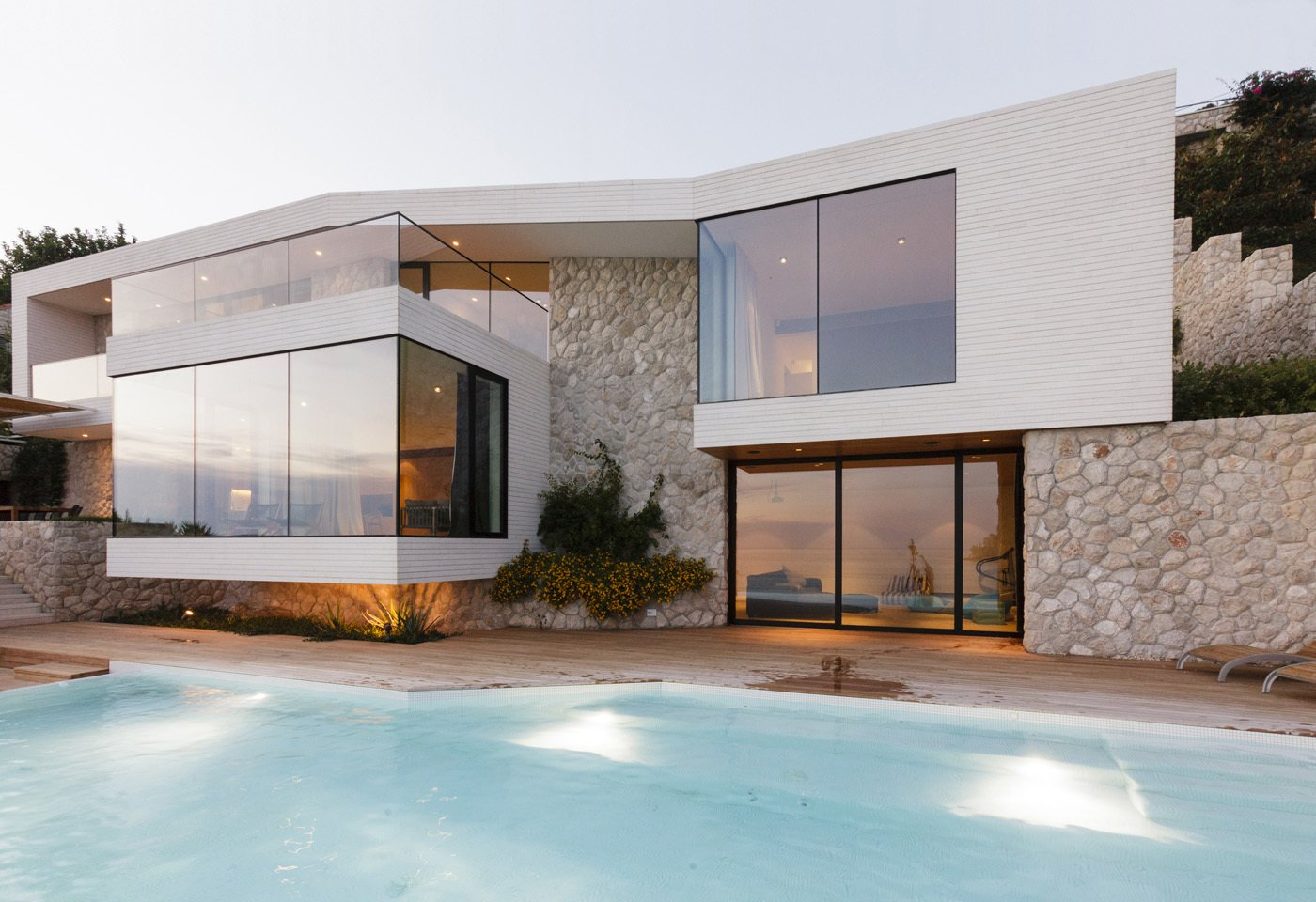 View of the pool  House V2 by 3LHD