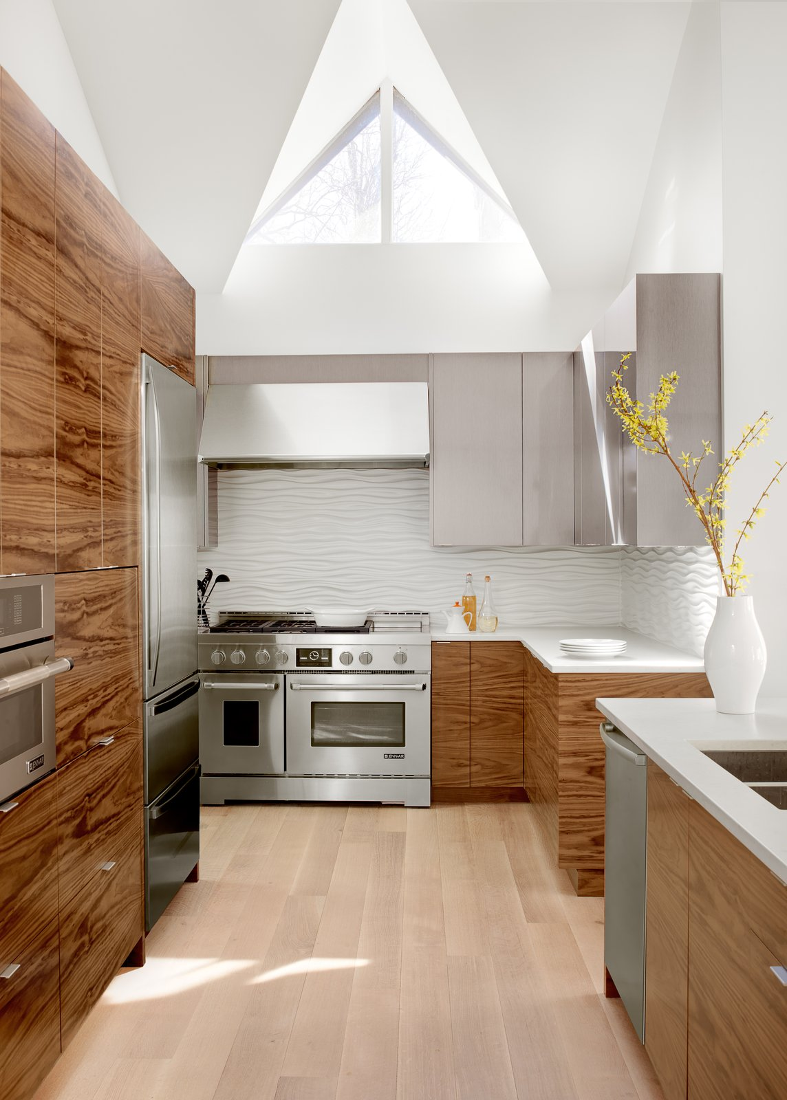 Kitchen  Modern House in Creve Couer by Mitchell Wall Architecture & Design