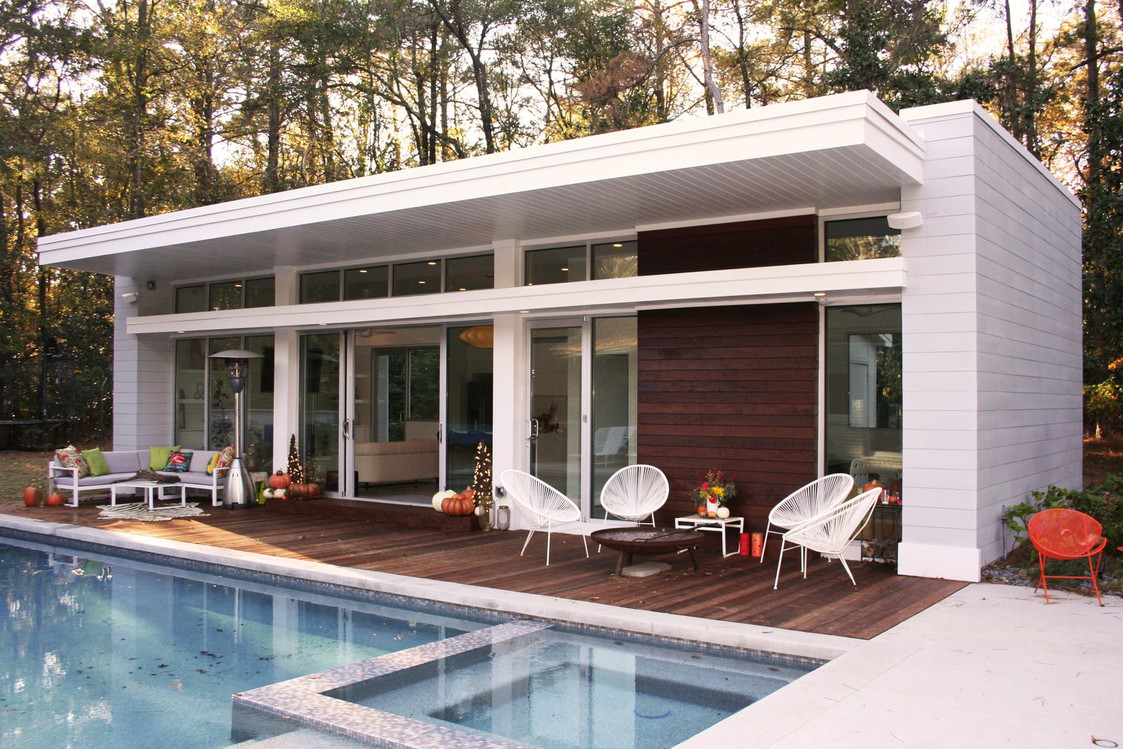 Buckhead Modern Pool House Modern Home In Atlanta Georgia By Sean On Dwell