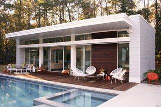 Buckhead Modern Pool House