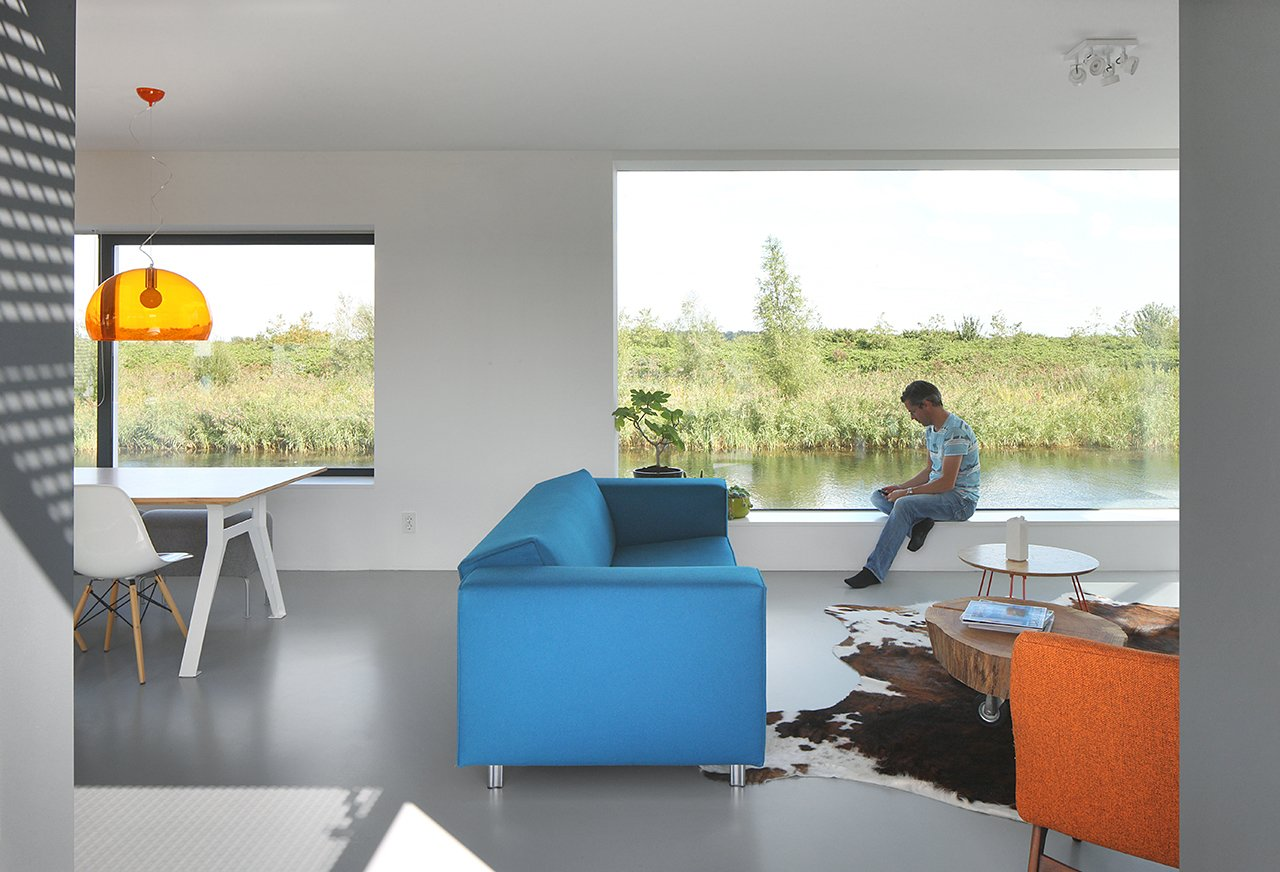 Living Room, Sofa, and Chair  House With 11 Views