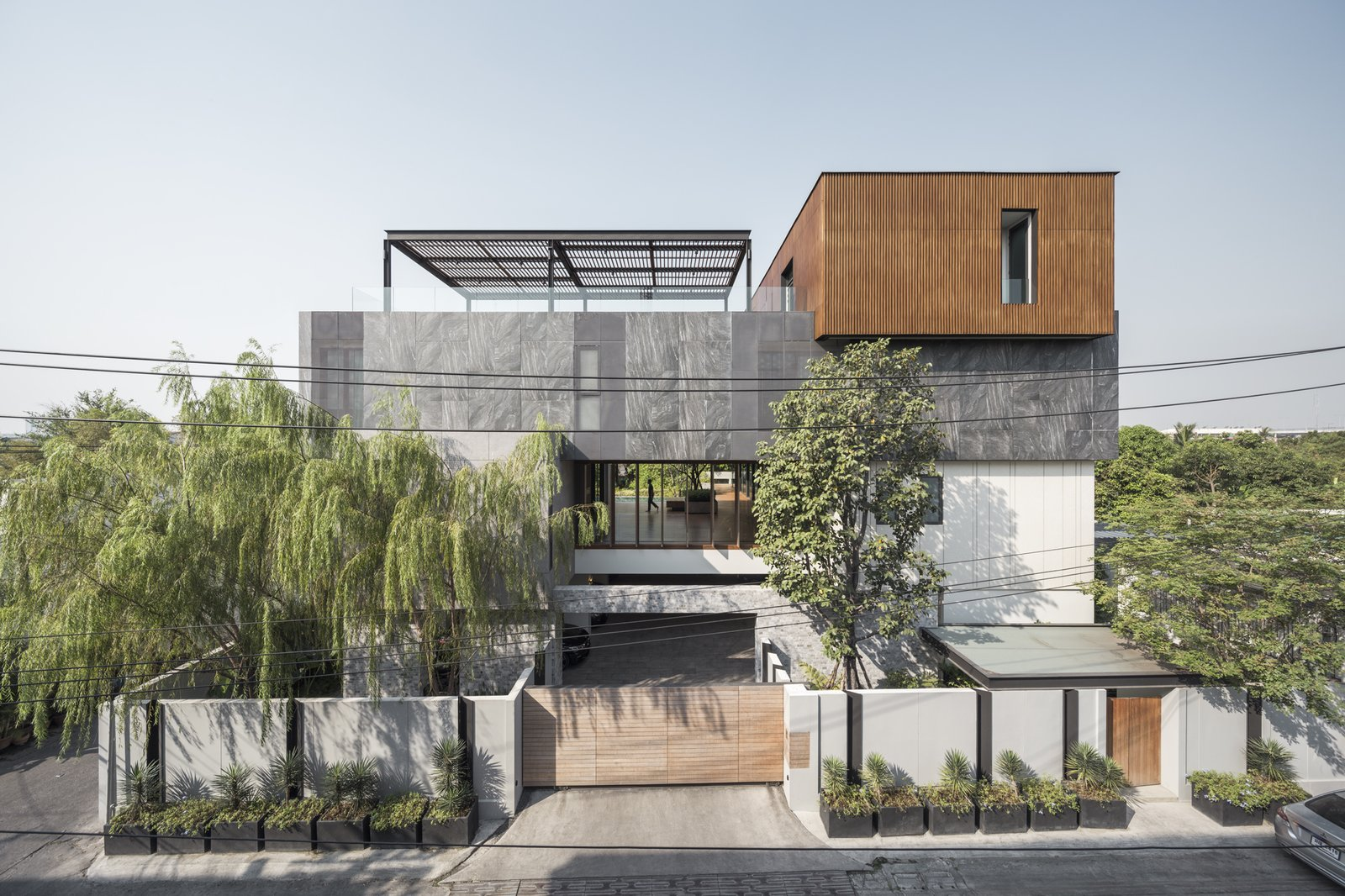 Exterior, House Building Type, Wood Siding Material, and Concrete Siding Material  Re-Gen House by EKAR