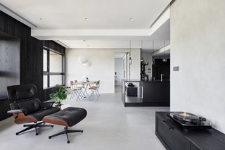Blackened Wood Apartment