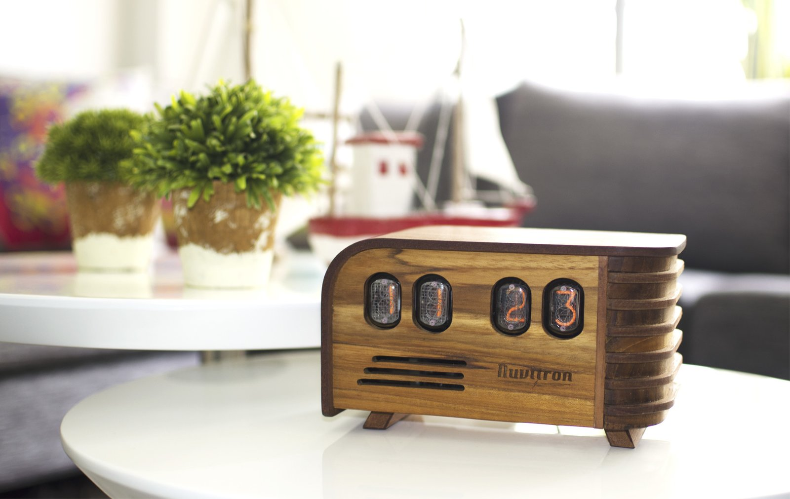 Photo 1 of 2 in The Vintage Nixie Tube Clock