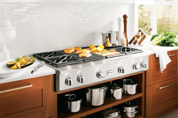 GE White Kitchen