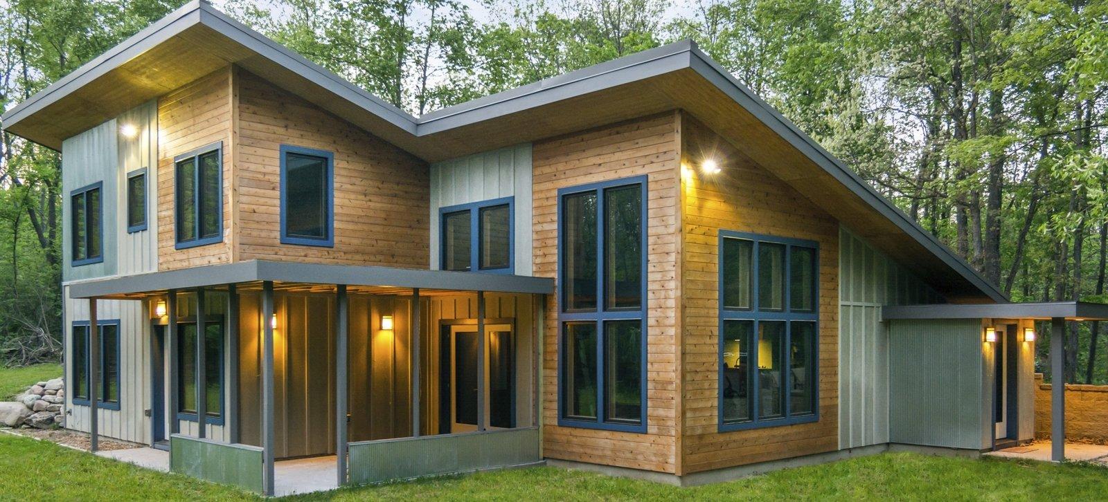 Passive Solar Home - New Build Modern Home in Ann Arbor ...
