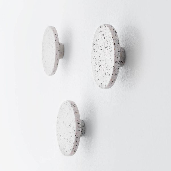 The Citizenry Sepon Terrazzo Wall Hooks - Set of 3