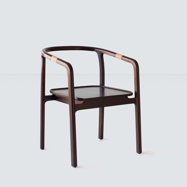 The Citizenry Savu Chair - Rosewood