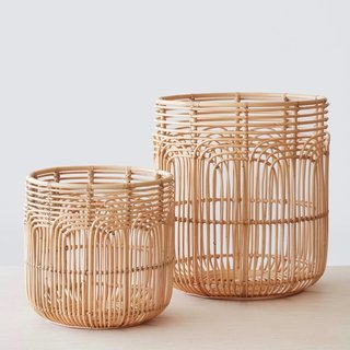 The Citizenry Naga Rattan Baskets