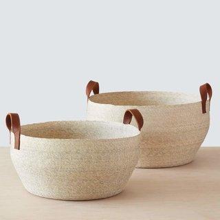 The Citizenry Mercado Natural Floor Basket