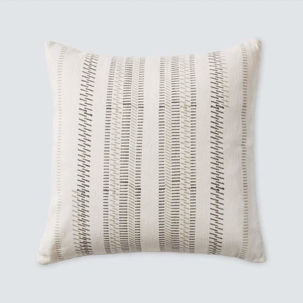 The Citizenry Mahal Pillow - Grey