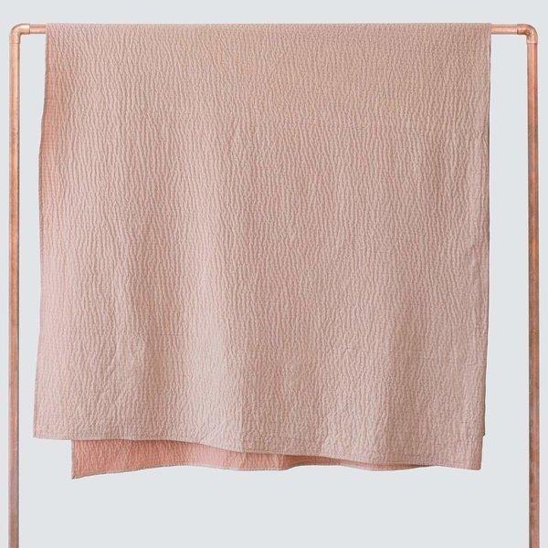 Amara Kantha Blanket - Blush