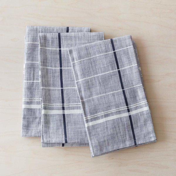 The Citizenry Onam Kitchen Towels - Blue