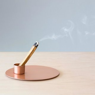 The Citizenry Copper Palo Santo Holder