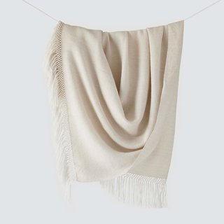 The Citizenry Diamanta Throw - Sand