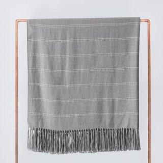 The Citizenry Abeto Bed Blanket - Soft Grey