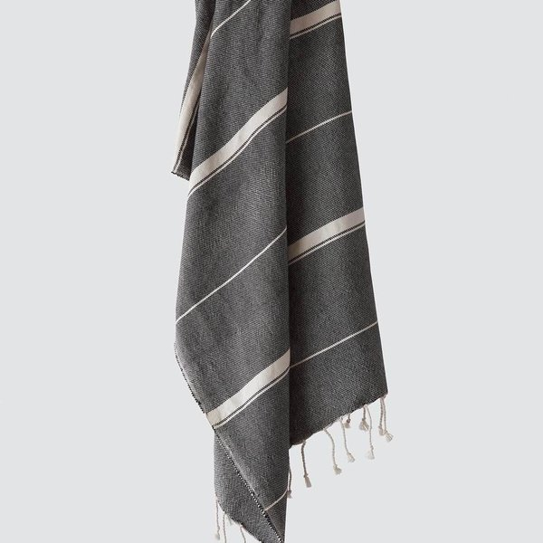 The Citizenry Sahar Towels - Black