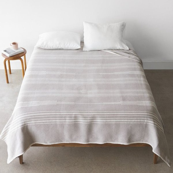 Photo 1 of 1 in The Citizenry Abrigo Bed Blanket - Oatmeal