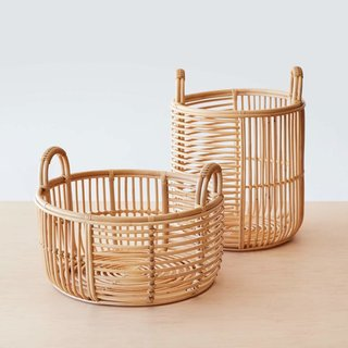 The Citizenry's Java Rattan Baskets