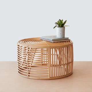The Citizenry's Java Rattan Coffee Table