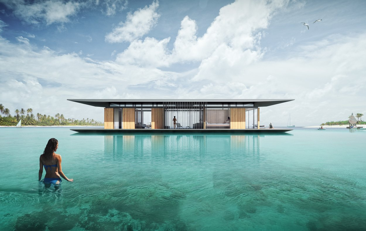 Exterior and Boathouse Building Type  Best Photos from Floating Homes