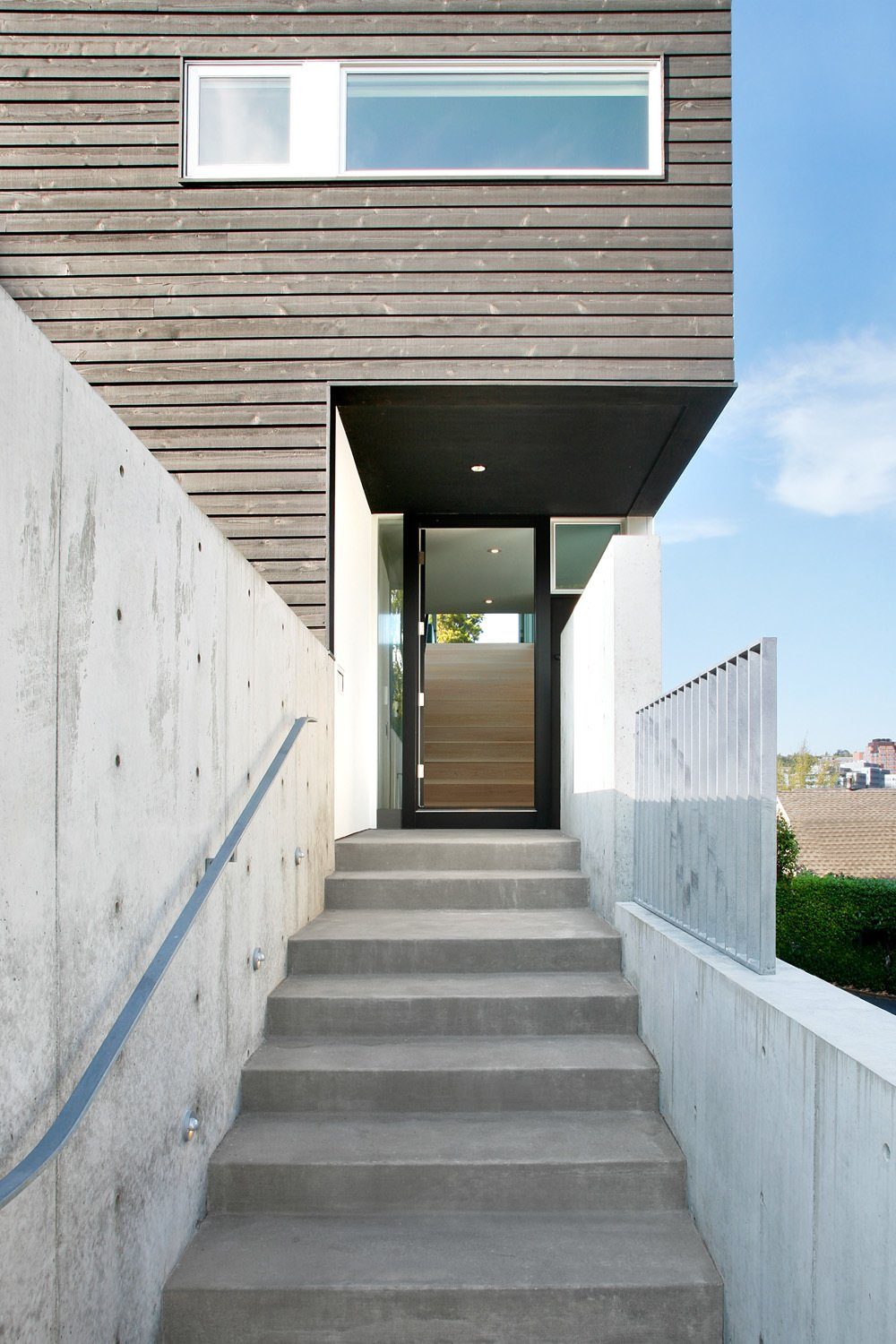 Tagged: Outdoor.  Cantilever House by Robert Hutchison Architecture