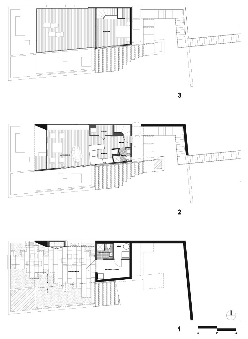 Guest House on a Lake by Robert Hutchison Architecture from plan