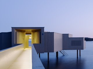 A Swedish Coastal Town Commissions an Otherworldly Bathhouse - Photo 1 of 5 -