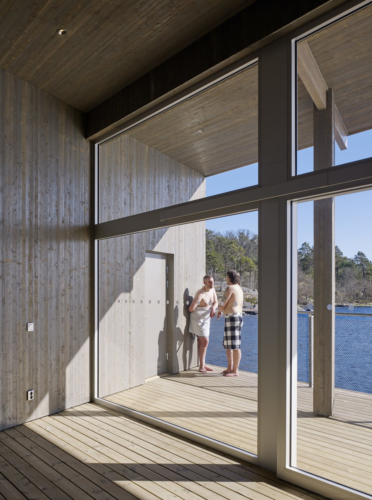 Windows  Best Photos from A Swedish Coastal Town Commissions an Otherworldly Bathhouse