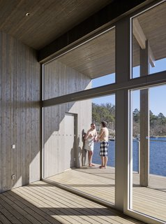 A Swedish Coastal Town Commissions an Otherworldly Bathhouse - Photo 3 of 5 -
