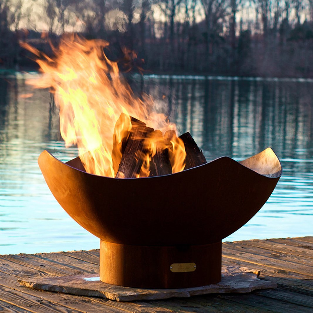 Outdoor  Photo 5 of 8 in Gather Around These 7 Modern Fire Pit Designs