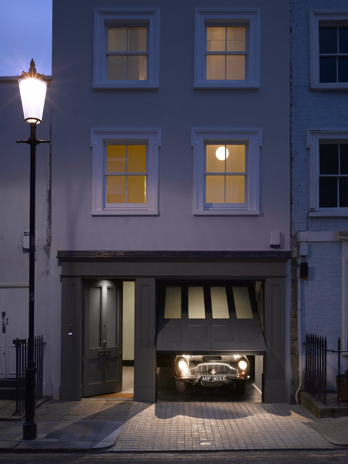 Garage and Attached Garage Room Type  Photo 2 of 12 in A Stunning Townhouse For Sale in a Historic London Neighborhood
