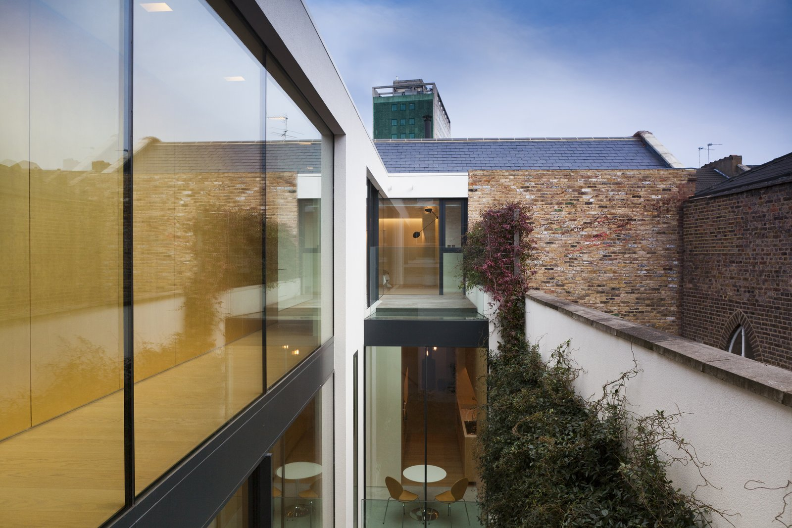 Windows and Metal  Hillgate Street Residence from A Stunning Townhouse For Sale in a Historic London Neighborhood