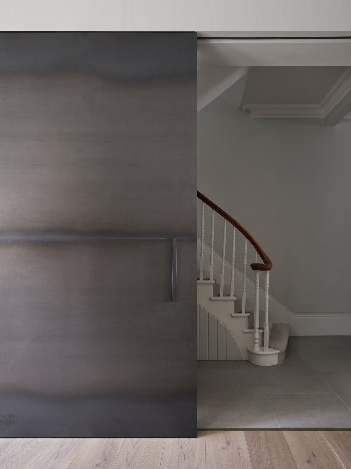 Staircase  Photo 7 of 10 in A Once-Derelict London House Restored With Modern Elegance