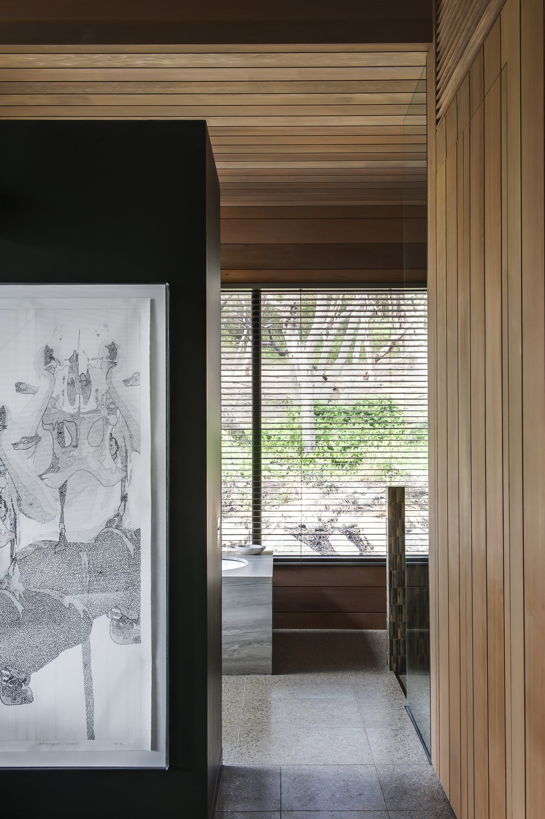 Photo 3 of 7 in Unexpected Bursts of Color Enliven a Midcentury Pad in Australia