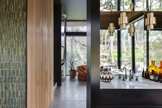 Unexpected Bursts of Color Enliven a Midcentury Pad in Australia - Photo 5 of 6 -
