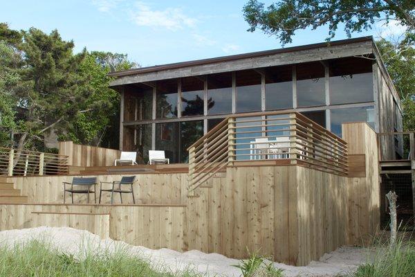 A Respectfully Renovated Modern Beach House on Fire Island Asks $1.8M
