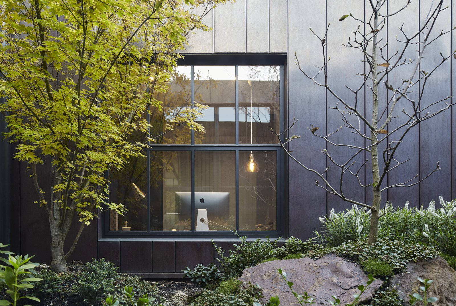 Photo 4 of 11 in See How Sliding-Glass Pavilions Transformed a Renovated Melbourne Home