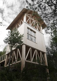 Unwind in a Simple Swedish Cabin With a Meditative Lookout on the Roof - Photo 1 of 7 -