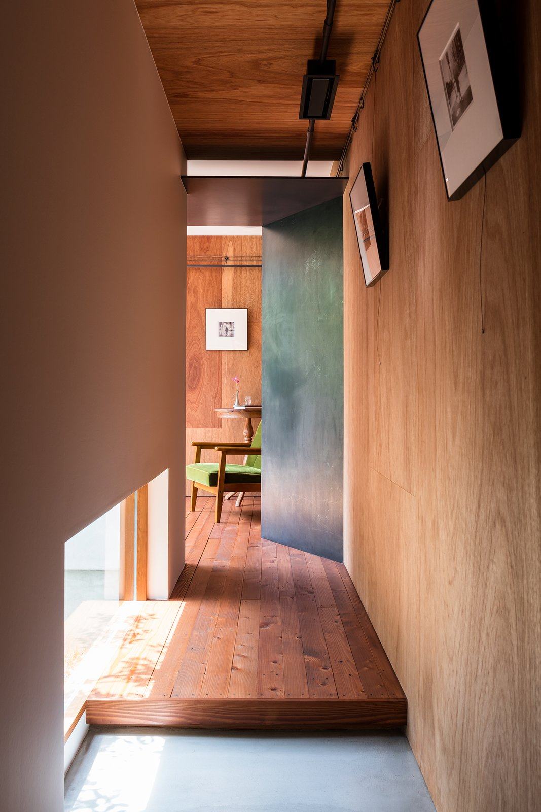 Medium Hardwood, Windows, Metal, and Picture  Best Windows Picture Medium Hardwood Photos from Find Out How a Japanese Architect Created a Fluid Live/Work Space For a Photographer