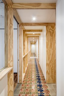 A Dramatic Apartment Renovation in Barcelona Features Salvaged Tile and Brick - Photo 10 of 13 -