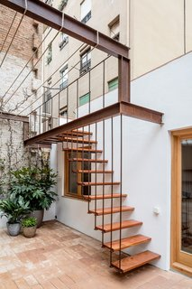 A Dramatic Apartment Renovation in Barcelona Features Salvaged Tile and Brick - Photo 13 of 13 -